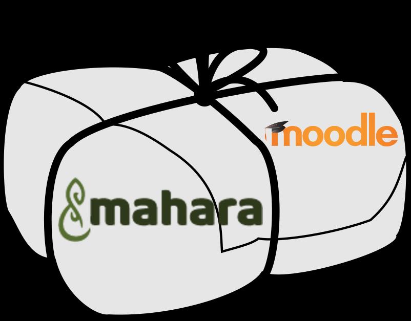 Moodle Mahara Paket 2017